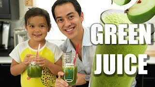 How To Make Green Juice- Easy Recipe For Kids
