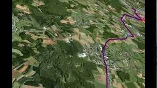 preview picture of video 'Die Römerstrasse von Reims nach Trier: das Teilstück Arlon-Luxemburg'