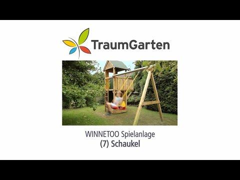 Winnetoo Spielturm Montage 7 Schaukel | TraumGarten
