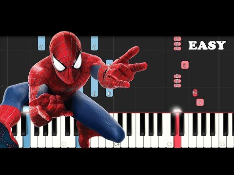 Post Malone, Swae Lee - Sunflower (Spiderman Into the Spider Verse)(SLOW EASY PIANO TUTORIAL)