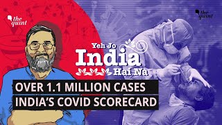 1.1M COVID Cases, Over 27,000 Deaths: Big Mistakes India Must Correct | The Quint  IMAGES, GIF, ANIMATED GIF, WALLPAPER, STICKER FOR WHATSAPP & FACEBOOK