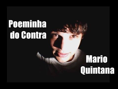 Poeminha do Contra- Mário Quintana | Poesia na Penumbra