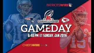 AFC CHAMPIONSHIP! New England Patriots Vs. Kansas City Chiefs LIVE STREAM Reaction