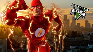 GTA V PC FLASH MOD - El IMPRESIONANTE MOD DE FLASH !!! - SuperHeroes En GTA 5 - ElChurches