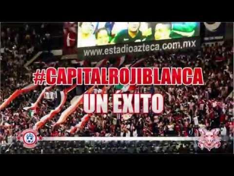 """""""LA BANDA DE CHIVAS ESTADIO AZTECA 2014  CLÁSICO NACIONAL"""" Barra: La Irreverente • Club: Chivas Guadalajara"""