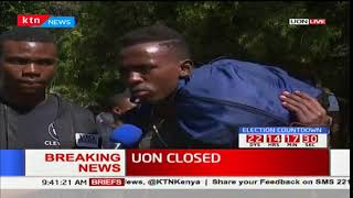 UON students' reactions to the school closure