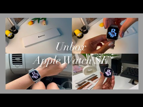 Unbox 2020 Apple Watch SE 40mm | space grey aluminum + straps | แกะกล่อง Apple Watch SE + สายนาฬิกา