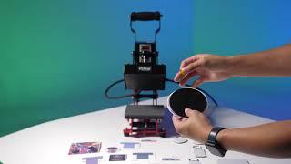 皮革質感的熱轉印杯墊印製效果竟然如此驚人?!|A4-6小尺寸平燙機(15x15cm)-熱轉印機|皮革質感熱轉印耗材全新上市|熱轉印設備推薦|奕昇有限公司