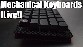 Mechanical Keyboards Live! - repairs and a keyboard build