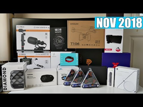 Coolest Tech of the Month Nov 2018 - EP#19 - Latest Gadgets You Must See!