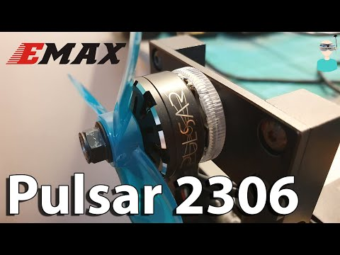 Emax Pulsar 2306 LED Motors - Thrust Test & Overview