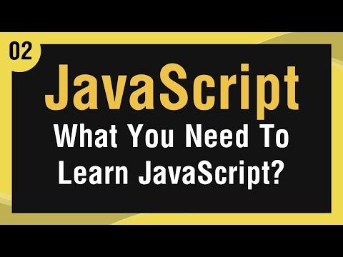 تعلم لغة JavaScript القائمة #1 الفديو #2