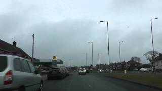 preview picture of video 'Driving Along Longmoor Lane & Valley Road A506, Liverpool, England 12th February 2012'