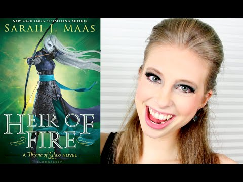 HEIR OF FIRE BY SARAH J MAAS   booktalk with XTINEMAY