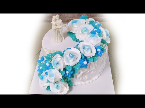 Как красиво украсить торт на юбилей свадьбы