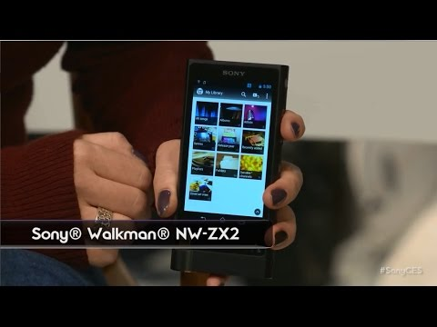 CES 2015: New Hi Res Walkman - NW-ZX2 (FIRST LOOK)