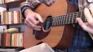 How To Fingerpick Like Blind Boy Fuller - Screamin & Cryin' Blues