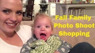 FALL FAMILY PICTURE OUTFIT SHOPPING