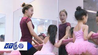 Lớp múa Ballet của nhí Hà thành | VTC