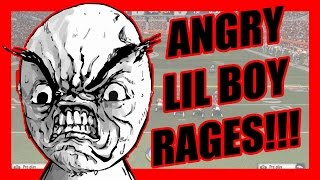 ANGRY LIL BOY RAGES! - Ultimate Team Madden 15  | MUT 15 XB1 Gameplay
