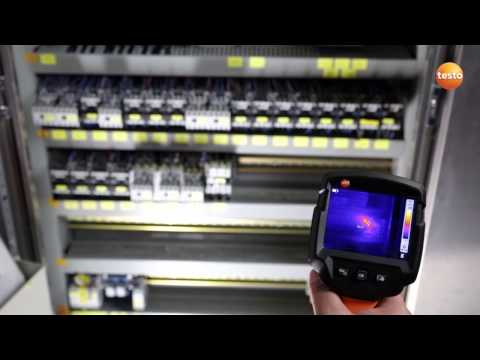 Thermography in industrial maintenance with the thermal imager testo 870