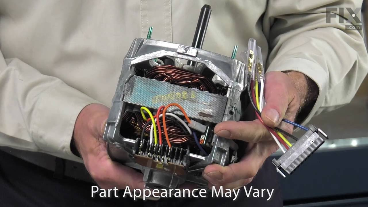 Replacing your Maytag Washer Drive Motor - One Speed - 120V