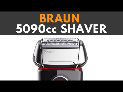 Braun series 5 5090cc Clean and charge Review,  Great shaver for all stubble, Waterproof, wireless
