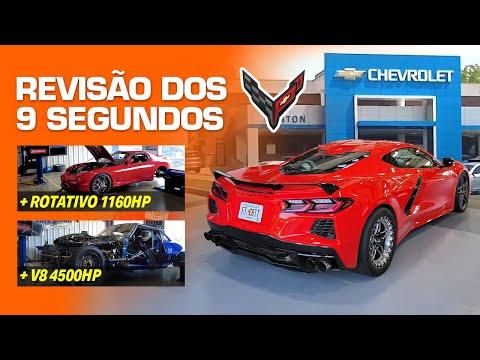Revisão dos 9 segundos na Concessionária Chevrolet da Corvette C8 Twin Turbo FuelTech!?