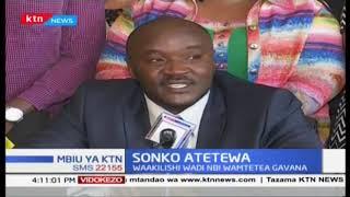 Baadhi ya MCAs wa Nairobi wamtetea Gavana Sonko