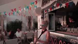 Lovely Laura Klingande and Bob Sinclar at Cafe Mambo
