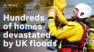 Storm Dennis: severe flooding continues in England and Wales