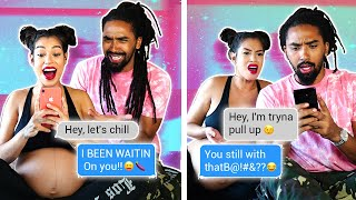 We TEXT our EX's TO SEE IF THEY STILL WANT US 😳!! *MISTAKE*