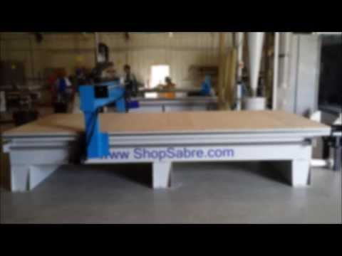 ShopSabre CNC IS Series Foam Cutvideo thumb