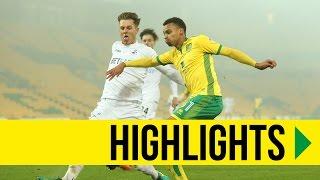 HIGHLIGHTS: Norwich City 0-1 Swansea City
