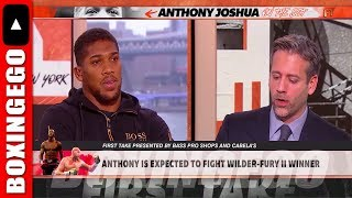 *LIVE* ANTHONY JOSHUA FIRST TAKE STATEMENTS MADE IT WORST FOR HIM -EGOVELI THE DON