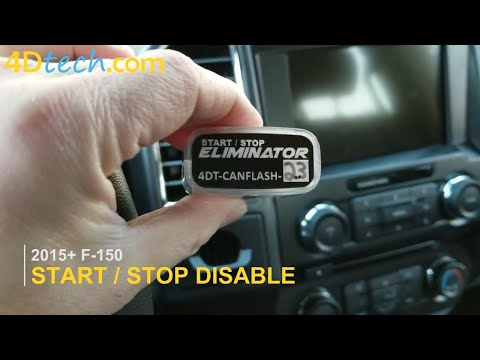 Ford F150 Engine Auto Start / Stop Eliminator Disable
