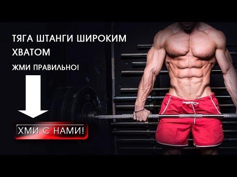 Тяга штанги к подбородку стоя техника выполнения какие мышцы работают