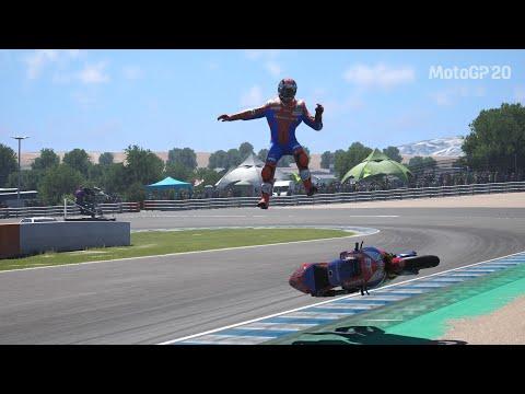 MotoGP 20 - Crash Compilation #9 (PS4 HD)