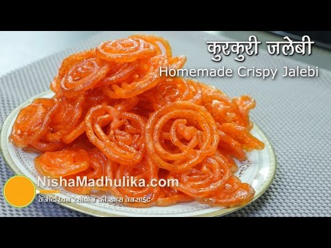 Video Jalebi Recipe - Crispy Crunchy Juicy Jalebi without yeast