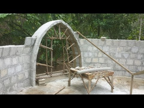 DIY Aircrete dome building workshop w/ Dome gaia - смотреть