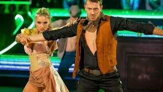 Ashley Taylor Dawson & Ola dance to 'You Give Love A Bad Name' - Strictly Come Dancing - BBC One