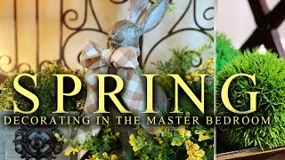 MASTER BEDROOM DECORATE WITH ME ~ FOR SPRING!