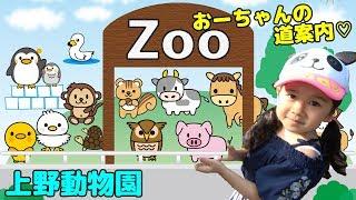 おーちゃんの道案内??上野動物園に行ってきたよ♡himawari-CH