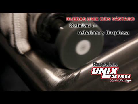 Ruedas UNIX con vástago