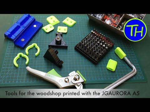 JGAURORA A5 printing useful tools for the workshop