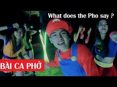 BÀI CA PHỞ: What does the Pho say ? [The Fox Parody]. Phở mới ra lò đây.