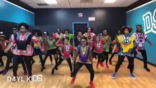 Black Panther Challenge - D4YL Kids from Atlanta #BlackPantherChallenge
