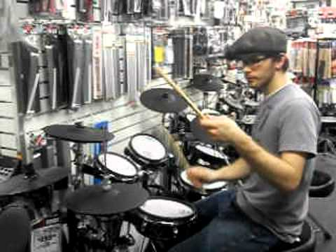 Aaron Cotler on electronic drums