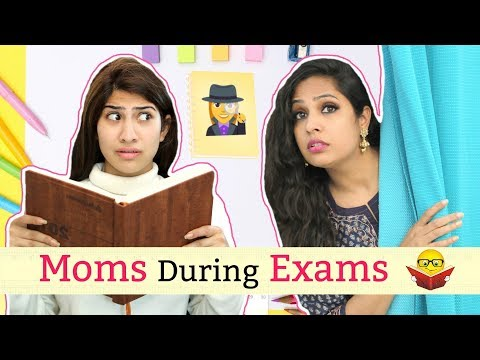 Types of MOM's During EXAMS ..   #Students #Sketch #Roleplay #Anaysa #ShrutiArjunAnand