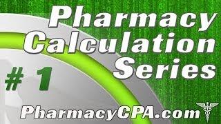 Pharmacy Calculations - Pharmaceutical Calculation Heirachy